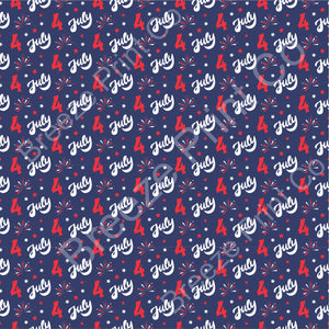 Fourth of July pattern vinyl sheet, stars and fireworks, heat transfer / HTV or Adhesive Vinyl  indoor, outdoor, glitter, USA HTV2819