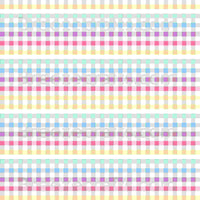Pastel buffalo check patterned faux leather sheets, Easter / spring pattern checkered leather fabric for earrings, bows, crafts L3406M