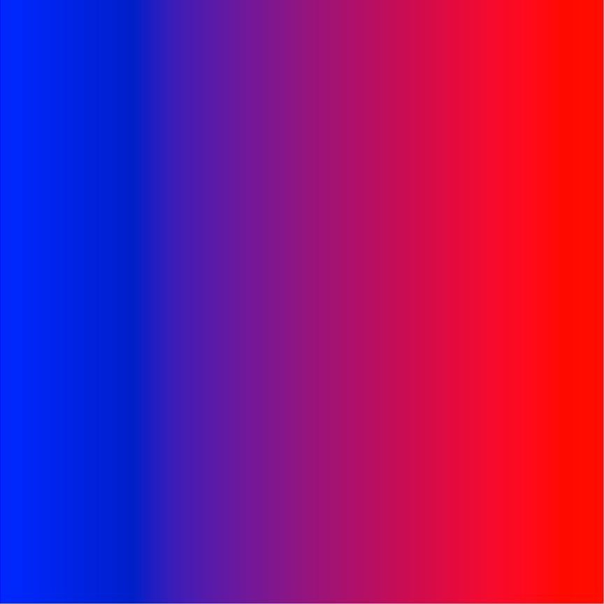 Blue, purple and red ombre fade gradient pattern vinyl in HTV heat transfer or adhesive vinyl sheets