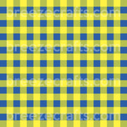 Buffalo Plaid Pattern Vinyl, blue and yellow Down Syndrome Awareness pattern, HTV/heat transfer or Adhesive Vinyl HTV1876 - Breeze Crafts