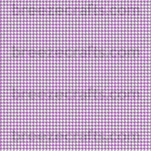 Houndstooth faux leather sheets, patterned faux leather, leather fabric, vinyl fabric, purple and white MINI pattern for earrings,bows L422M