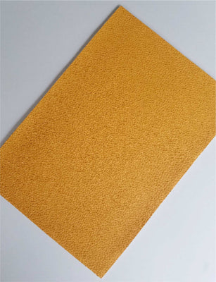 Athletic Gold textured faux leather sheets, solid yellow gold litchi leather fabric, A4 8x11 inch sheets  13208 - Breeze Crafts