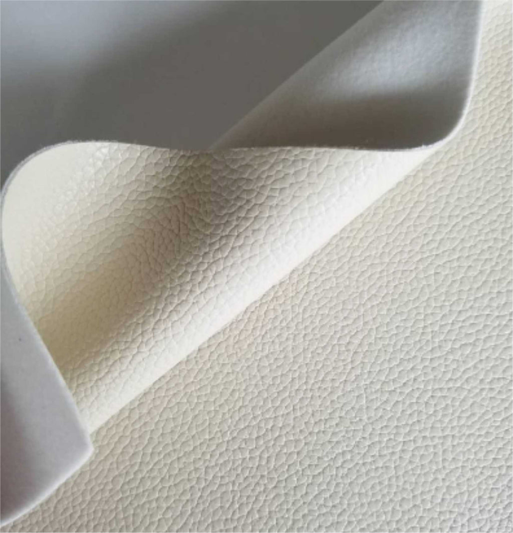 Beige textured faux leather sheets, solid litchi pebbled leather fabric, for bows, earrings and more A4 8x11 inch sheet 19011 - Breeze Crafts