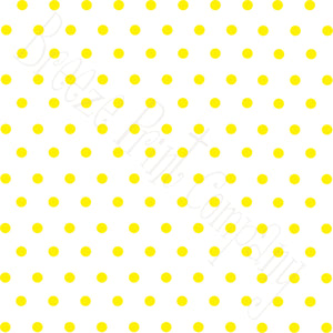White with yellow polka dots craft  vinyl - HTV -  Adhesive Vinyl -  polka dot pattern   HTV25