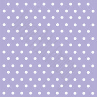Lavender with white polka dots craft  vinyl - HTV -  Adhesive Vinyl -  polka dot pattern   HTV40
