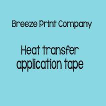 Heat Transfer Application Tape - 20 inch x 5 yard roll