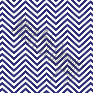 Navy chevron craft  vinyl - HTV -  Adhesive Vinyl -  navy blue and white zig zag pattern   HTV67