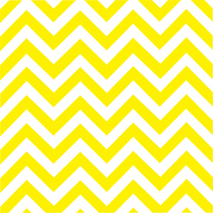 Yellow chevron craft  vinyl - HTV -  Adhesive Vinyl -  yellow and white large zig zag pattern   HTV126
