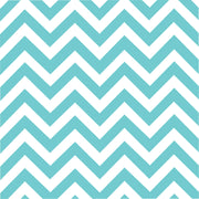 Aqua chevron craft vinyl - HTV -  Adhesive Vinyl -  aqua and white large zig zag pattern   HTV112 - Breeze Crafts
