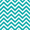 Teal chevron craft  vinyl - HTV -  Adhesive Vinyl -  teal and white large zig zag pattern   HTV1001