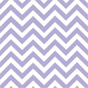 Lavender chevron craft  vinyl - HTV -  Adhesive Vinyl -  lavender and white large zig zag pattern   HTV105