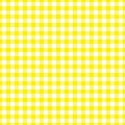 Gingham  craft  vinyl sheet - HTV -  Adhesive Vinyl -  yellow and white pattern   HTV201 - Breeze Crafts