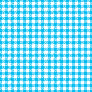 Cyan Gingham  craft  vinyl sheet - HTV -  Adhesive Vinyl -  cyan and white pattern   HTV206 - Breeze Crafts