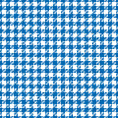 Blue Gingham  craft  vinyl sheet - HTV -  Adhesive Vinyl -  royal blue and white pattern   HTV207 - Breeze Crafts