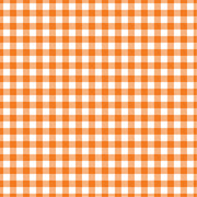 Orange Gingham  craft  vinyl sheet - HTV -  Adhesive Vinyl -  orange and white pattern vinyl   HTV217