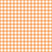Peach Gingham  craft  vinyl sheet - HTV -  Adhesive Vinyl -  peach and white pattern vinyl   HTV219