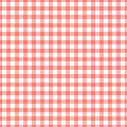 Coral Gingham craft  vinyl sheet - HTV -  Adhesive Vinyl -  coral and white pattern vinyl   HTV220 - Breeze Crafts