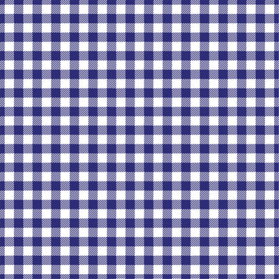 Navy Gingham  craft  vinyl sheet - HTV -  Adhesive Vinyl -  navy blue and white pattern vinyl   HTV221