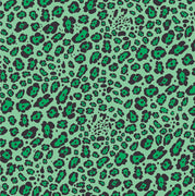 Green leopard craft  vinyl sheet - HTV -  Adhesive Vinyl -  green and black pattern vinyl   HTV231