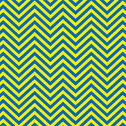 Royal blue and yellow chevron craft  vinyl - HTV -  Adhesive Vinyl -  zig zag pattern   HTV233