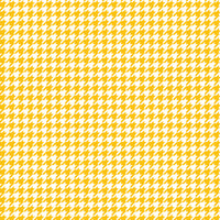 Yellow gold houndstooth craft  vinyl sheet - HTV -  Adhesive Vinyl -  yellowish orange and white pattern vinyl  HTV424