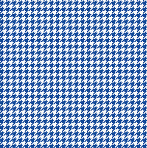 Blue houndstooth craft  vinyl sheet - HTV -  Adhesive Vinyl -  blue and white pattern vinyl  HTV404 - Breeze Crafts