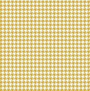 Gold houndstooth craft  vinyl sheet - HTV -  Adhesive Vinyl -  non-metallic gold and white pattern vinyl  HTV409 - Breeze Crafts