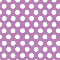 Orchid with white polka dots craft  vinyl - HTV -  Adhesive Vinyl -  large polka dot pattern