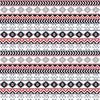 Gray black red and white tribal pattern craft  vinyl - HTV -  Adhesive Vinyl -  Aztec Peruvian pattern grey HTV921 - Breeze Crafts