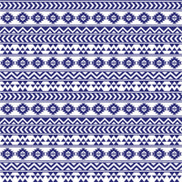 Navy and white tribal pattern craft  vinyl - HTV -  Adhesive Vinyl -  Aztec Peruvian pattern HTV928