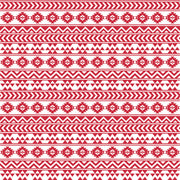 Brick red and white tribal pattern craft vinyl - HTV -  Adhesive Vinyl -  Aztec Peruvian burgundy pattern HTV915 - Breeze Crafts