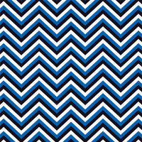 Blue, black and white chevron craft  vinyl - HTV -  Adhesive Vinyl -  chevron pattern vinyl HTV129 - Breeze Crafts
