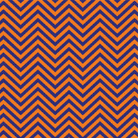 Navy with orange chevron craft or adhesive  vinyl - HTV -  Adhesive Vinyl -  navy blue and orange zig zag pattern   HTV132
