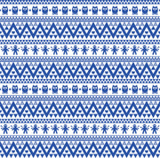 Blue owl tribal pattern craft vinyl - HTV -  Adhesive Vinyl -  Aztec Peruvian pattern HTV309 - Breeze Crafts
