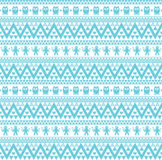 Aqua Owl tribal pattern craft vinyl - HTV -  Adhesive Vinyl -  Aztec Peruvian pattern HTV304 - Breeze Crafts