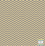 Black, gold and white mini chevron craft  vinyl - HTV -  Adhesive Vinyl -  zig zag pattern HTV1512 - Breeze Crafts