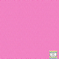 Magenta and white mini chevron craft  vinyl - HTV -  Adhesive Vinyl -  zig zag pattern HTV1526