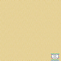 Gold and white mini chevron craft  vinyl - HTV -  Adhesive Vinyl -  zig zag pattern HTV1533 - Breeze Crafts