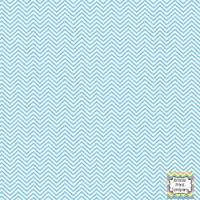 Light blue and white mini chevron craft  vinyl - HTV -  Adhesive Vinyl -  zig zag pattern HTV1529