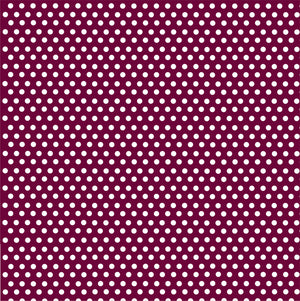 Maroon with white mini polka dots craft  vinyl - HTV -  Adhesive Vinyl -  polka dot pattern HTV2312