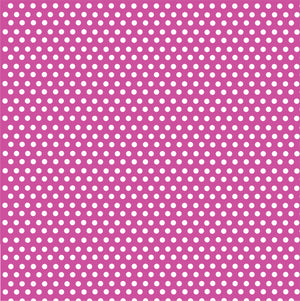Fuchsia with white mini polka dots craft  vinyl - HTV -  Adhesive Vinyl -  polka dot pattern HTV2320 - Breeze Crafts