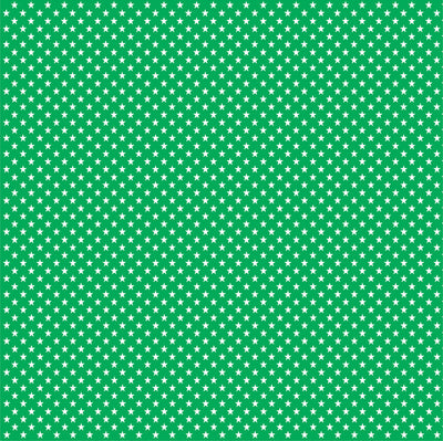Green with white mini stars craft  vinyl sheet - HTV -  Adhesive Vinyl -  star pattern HTV2401