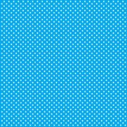 Cyan with white mini stars craft  vinyl sheet - HTV -  Adhesive Vinyl -  star pattern HTV2405 - Breeze Crafts