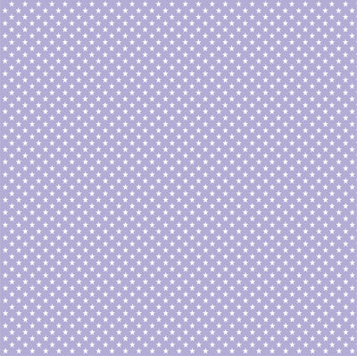 Lavender purple with white mini stars craft  vinyl sheet - HTV -  Adhesive Vinyl -  star pattern HTV2409