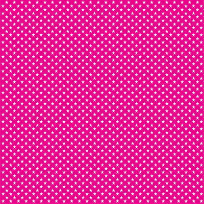 Magenta with white mini stars craft  vinyl sheet - HTV -  Adhesive Vinyl -  star pattern HTV2411