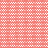 Coral with white mini polka dots craft  vinyl - HTV -  Adhesive Vinyl -  polka dot pattern HTV2324 - Breeze Crafts