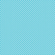 Aqua with white mini stars craft  vinyl sheet - HTV -  Adhesive Vinyl -  star pattern HTV2404 - Breeze Crafts