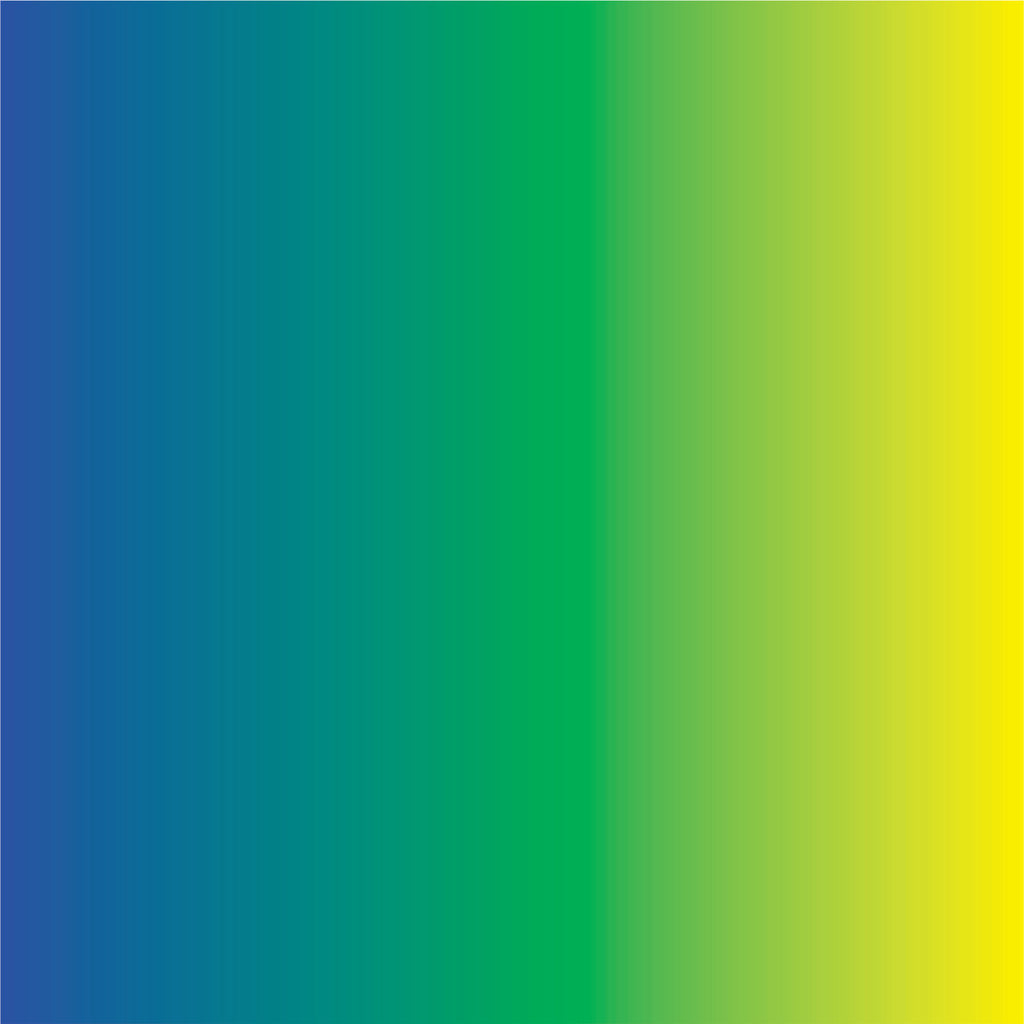 Blue, green and yellow Ombre print craft  vinyl sheet - HTV -  Adhesive Vinyl -  gradient print vinyl  HTV3103 - Breeze Crafts