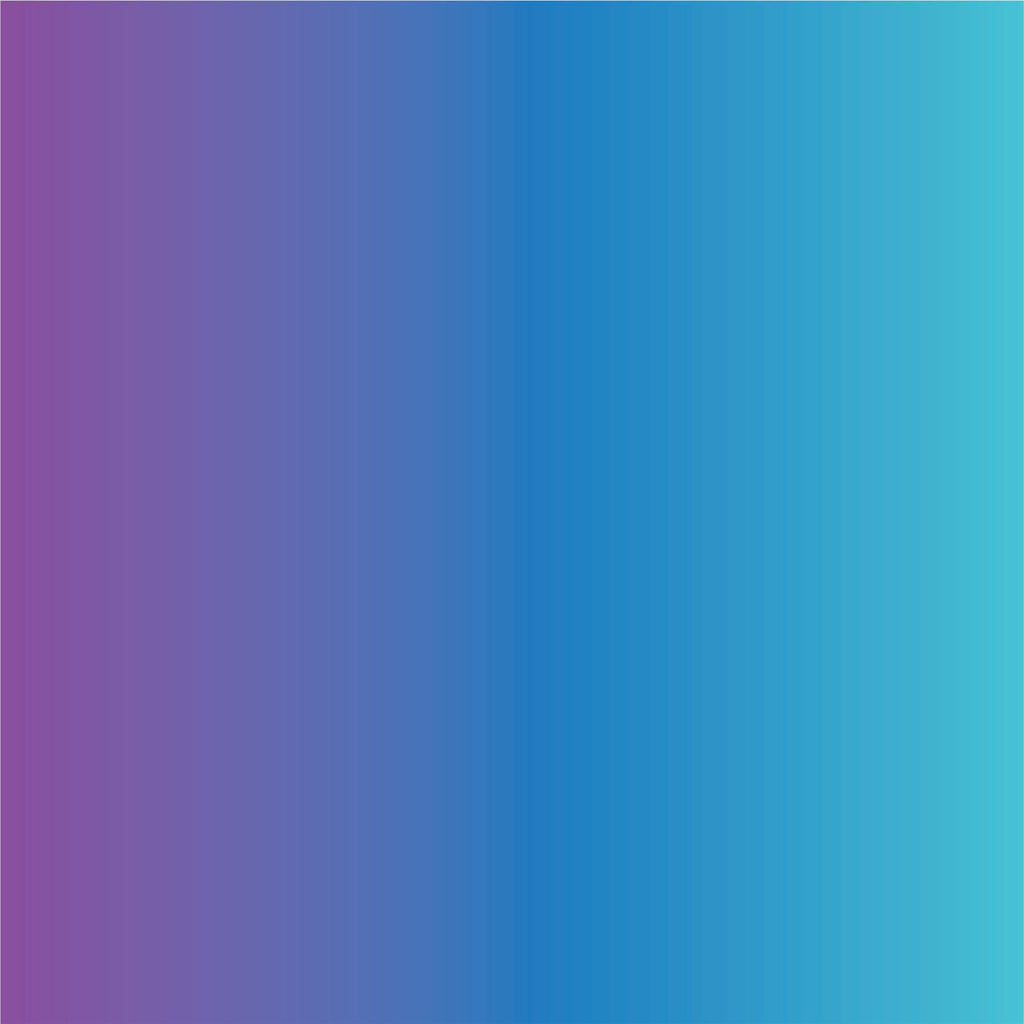 Purple, blue and aqua Ombre print craft  vinyl sheet - HTV -  Adhesive Vinyl -  gradient print vinyl  HTV3101