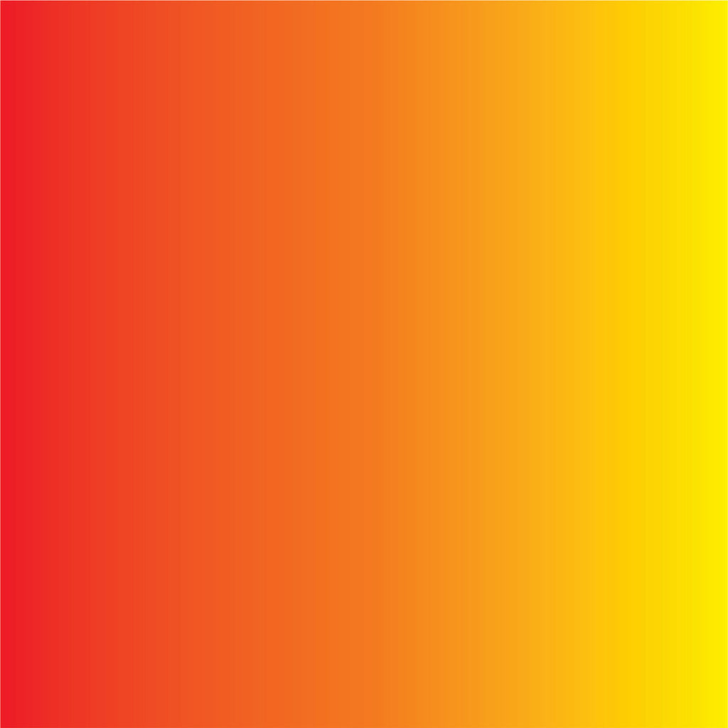 Red Orange And Yellow Ombre Print Craft Vinyl Sheet Htv